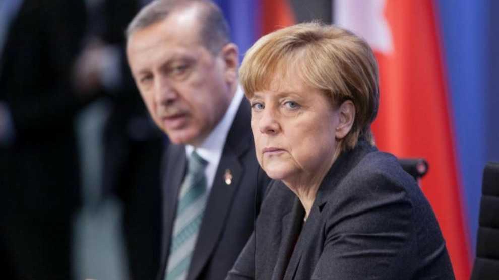 Resultado de imagen de Erdogan Merkel