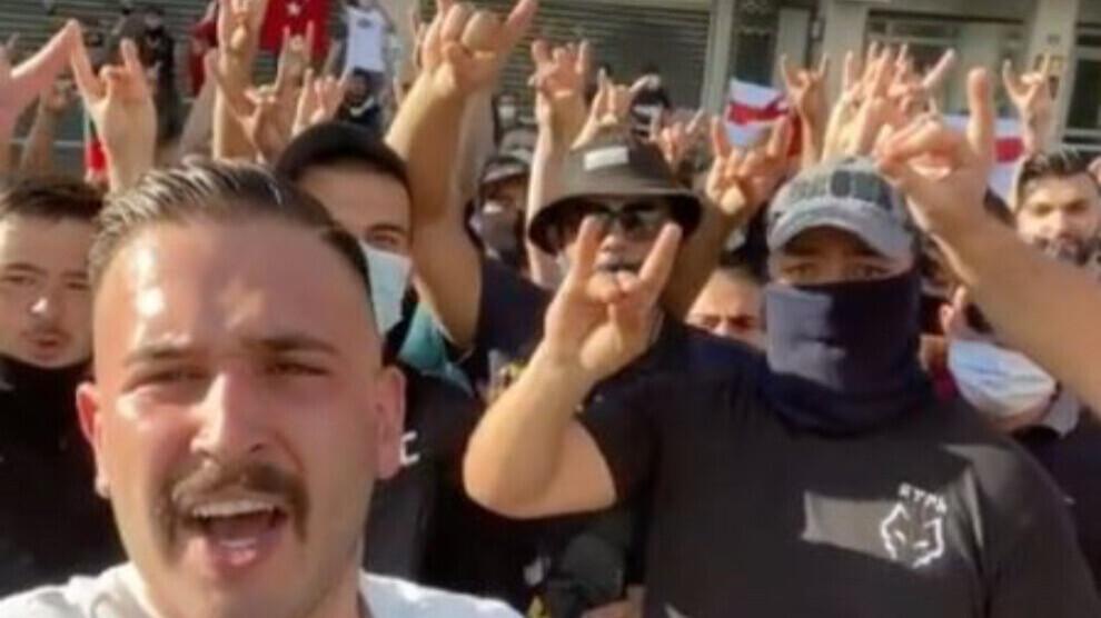 """ANF   Francia prohibirá a la organización turca de extrema derecha """"Lobos  Grises"""""""